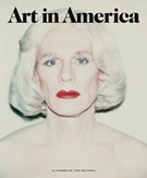Art In America Magazine 11/1/2018