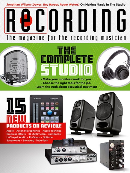 Recording Magazine Cover - 11/1/2018