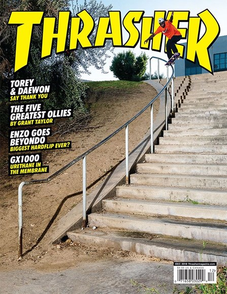 Thrasher Cover - 12/1/2018