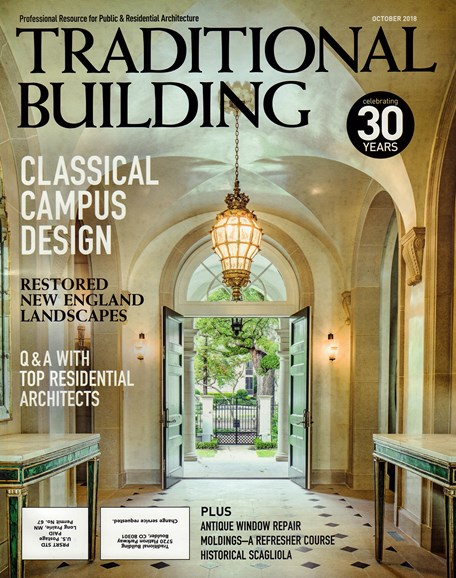 Traditional Building Cover - 10/1/2018