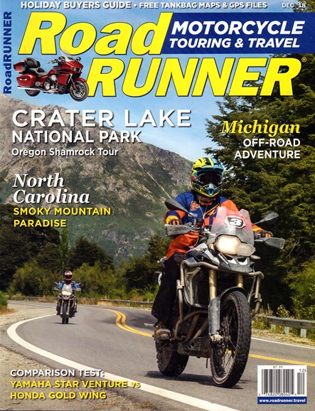 Road RUNNER Motorcycle & Touring Cover - 12/1/2018