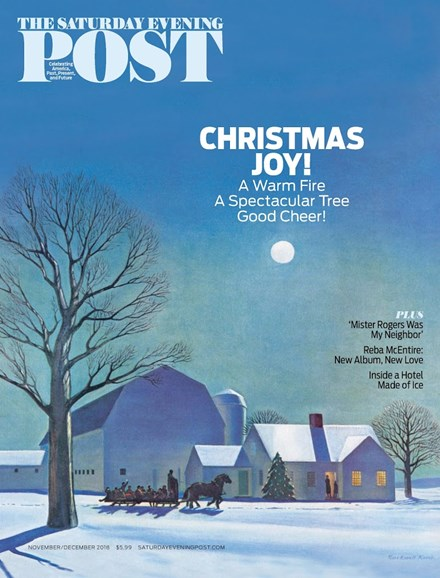 The Saturday Evening Post Cover - 11/1/2018