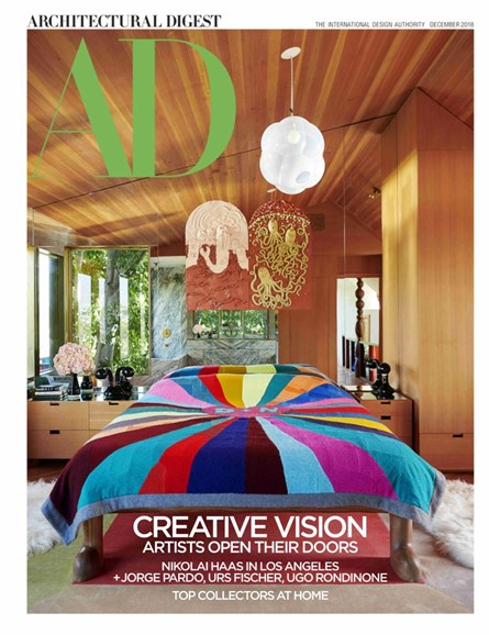 Architectural Digest Cover - 12/1/2018