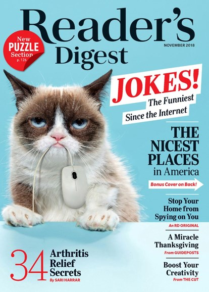 Reader's Digest Cover - 11/1/2018