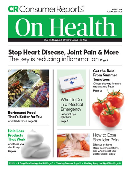 Consumer Reports On Health Cover - 8/1/2018