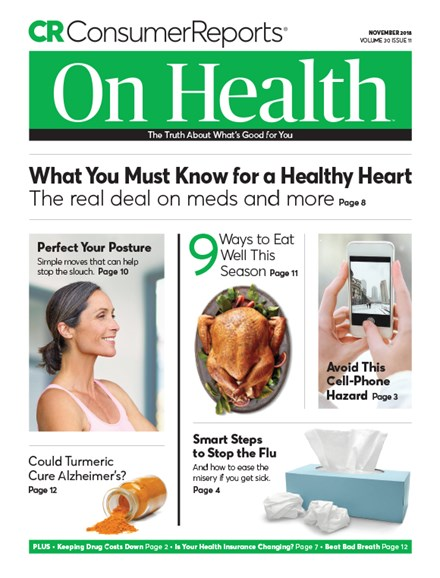 Consumer Reports On Health Cover - 11/1/2018
