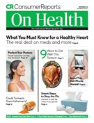 Consumer Reports On Health Magazine 11/1/2018