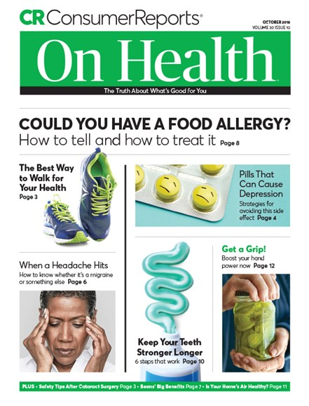 Consumer Reports On Health Cover - 10/1/2018