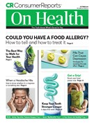 Consumer Reports On Health Magazine 10/1/2018