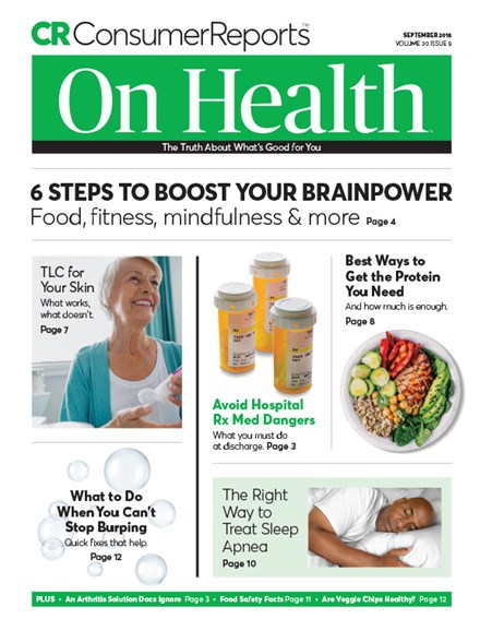 Consumer Reports On Health Cover - 9/1/2018