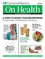 Consumer Reports On Health Magazine | 9/2018 Cover