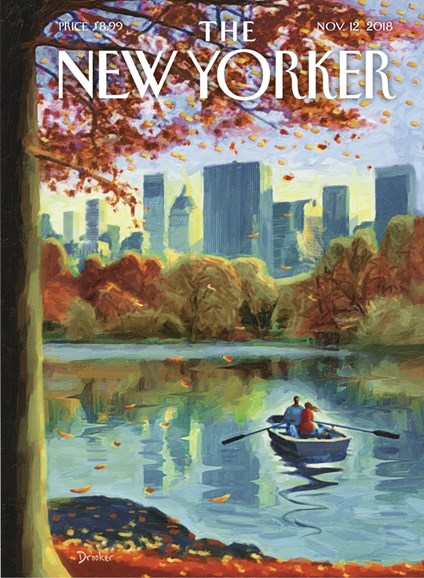 The New Yorker Cover - 11/12/2018