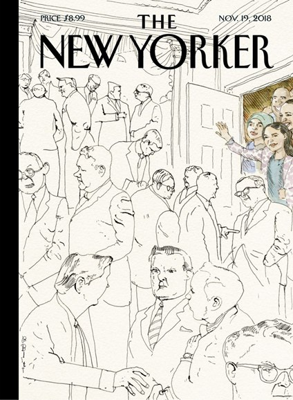 The New Yorker Cover - 11/19/2018