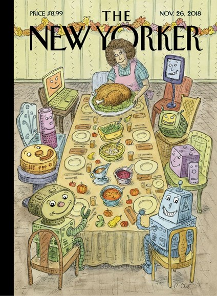 The New Yorker Cover - 11/26/2018