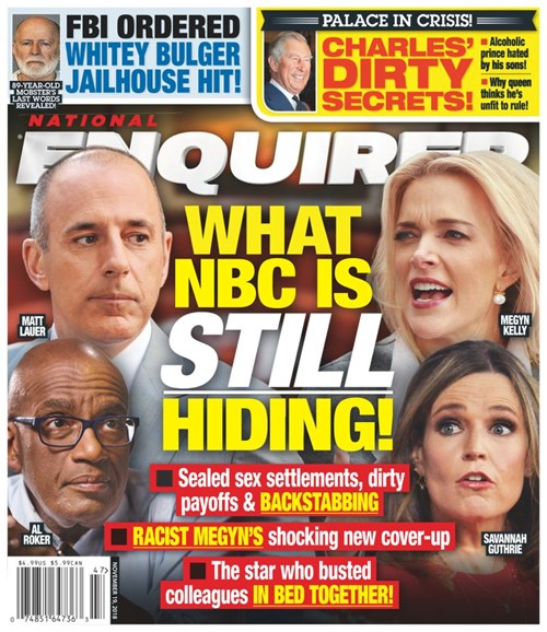 National Enquirer Cover - 11/19/2018