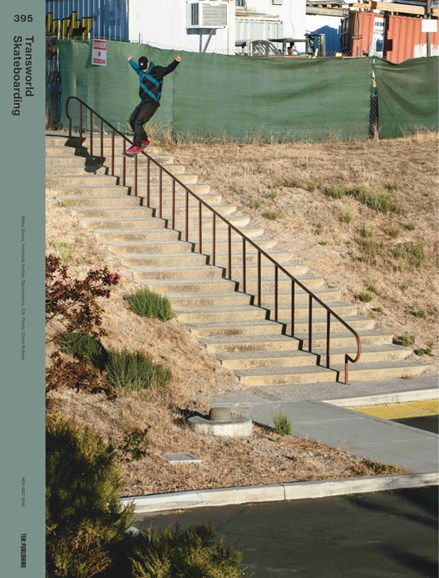 Transworld SKATEboarding Cover - 11/1/2018