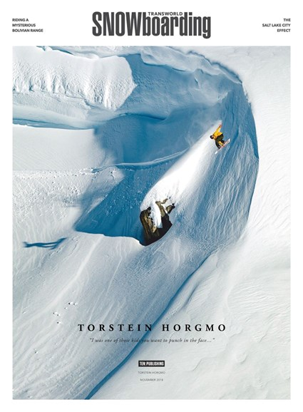 Transworld SNOWboarding Cover - 11/1/2018
