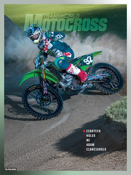 Transworld Motocross Cover - 12/1/2018