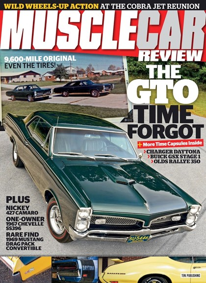 Muscle Car Review Cover - 12/1/2018
