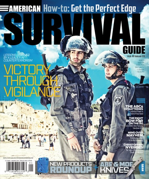 American Survival Guide Cover - 1/1/2019