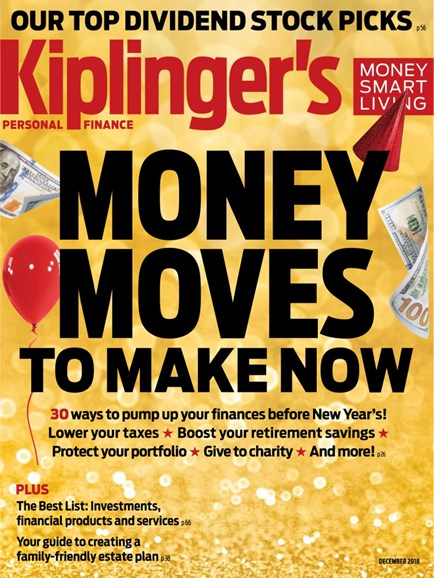 Kiplinger's Personal Finance Cover - 12/1/2018