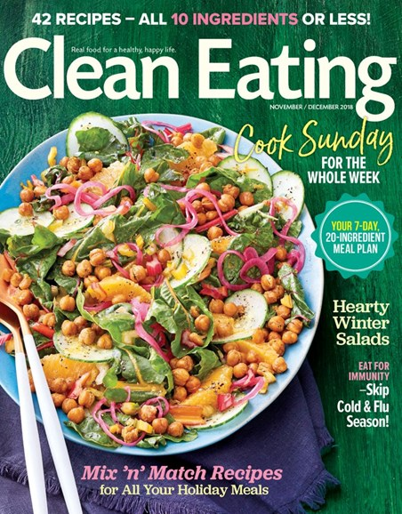 Clean Eating Cover - 11/1/2018