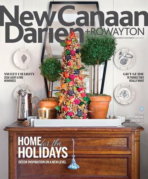 New Canaan-Darien Cover - 11/1/2018