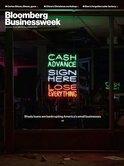 Bloomberg Businessweek Cover - 11/26/2018