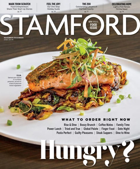 Stamford Magazine Cover - 11/1/2018