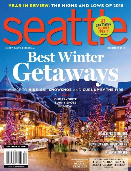 Seattle Magazine Cover - 12/1/2018