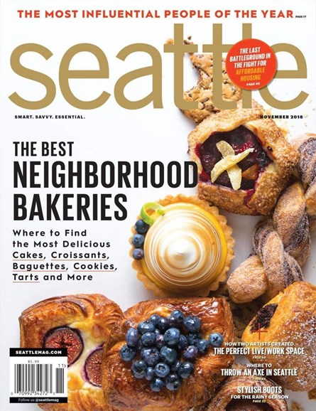 Seattle Magazine Cover - 11/1/2018