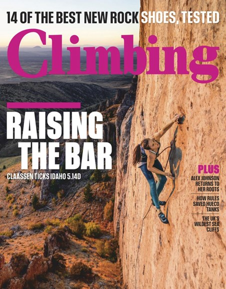 Climbing Magazine Cover - 12/1/2018