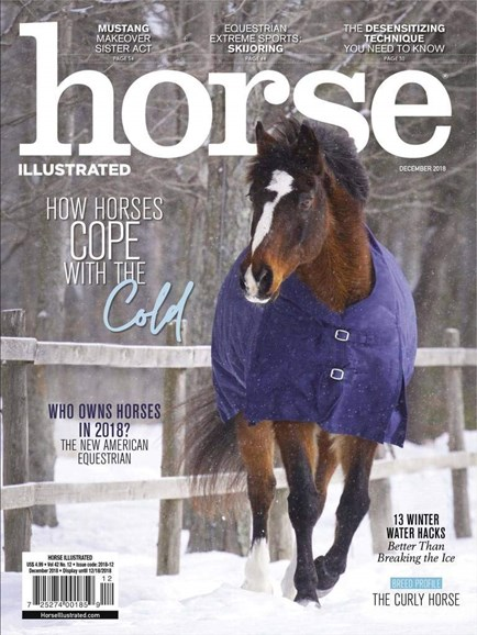 Horse Illustrated Cover - 12/1/2018