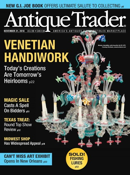 Antique Trader Cover - 11/21/2018