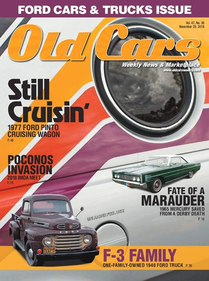 Old Cars Cover - 11/29/2018