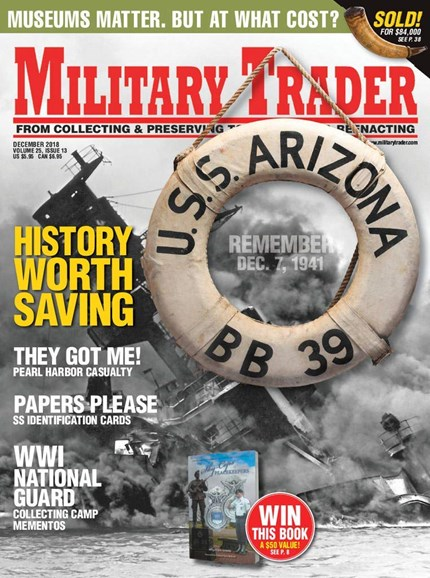 Military Trader Cover - 12/1/2018