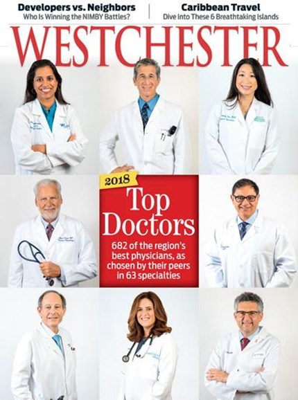 Westchester Magazine Cover - 11/1/2018