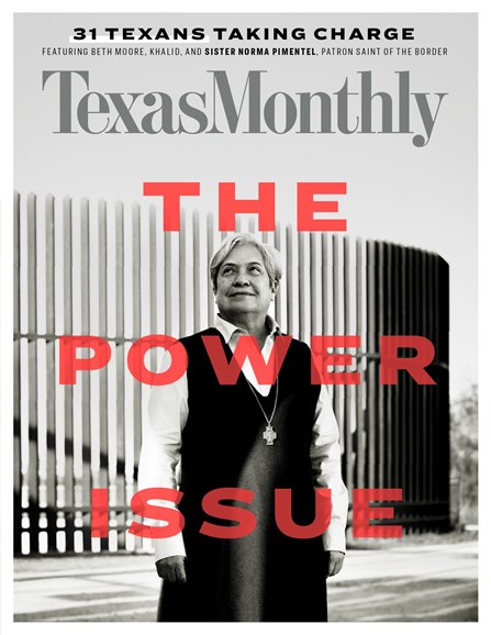Texas Monthly Cover - 12/1/2018