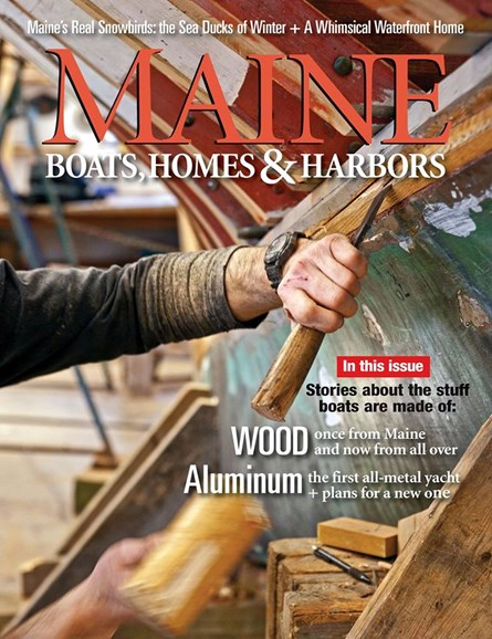 Maine Boats, Homes & Harbors Cover - 11/1/2018