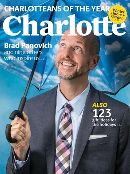 Charlotte Magazine Cover - 12/1/2018
