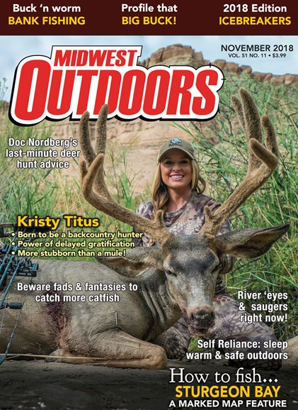 Midwest Outdoors Cover - 11/1/2018