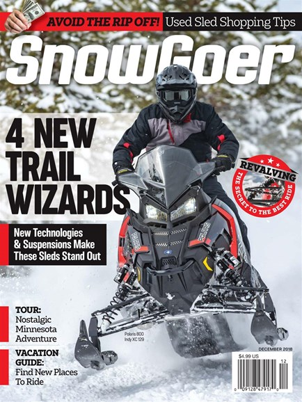 Snow Goer Cover - 12/1/2018