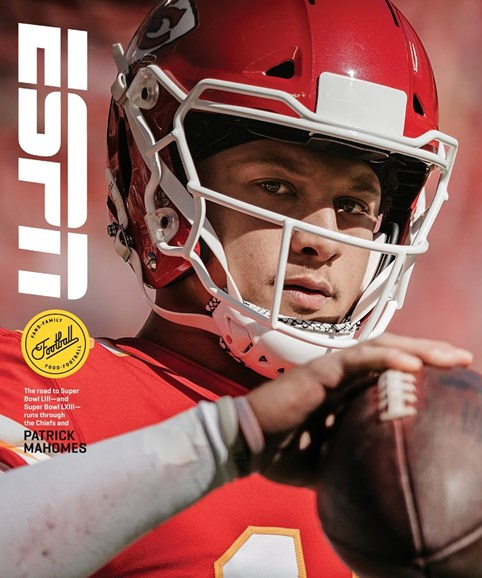 ESPN The Magazine Cover - 11/1/2018