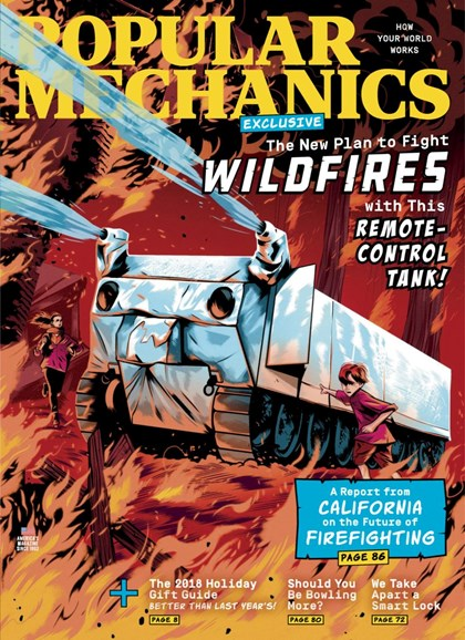 Popular Mechanics Cover - 12/1/2018
