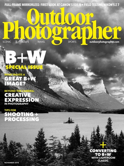 Outdoor Photographer Cover - 11/1/2018