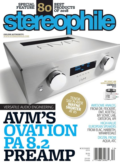Stereophile Cover - 12/1/2018