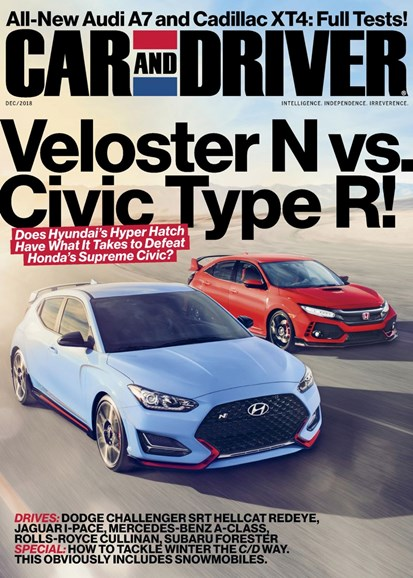 Car And Driver Cover - 12/1/2018