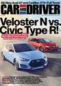 Car And Driver Magazine | 12/2018 Cover