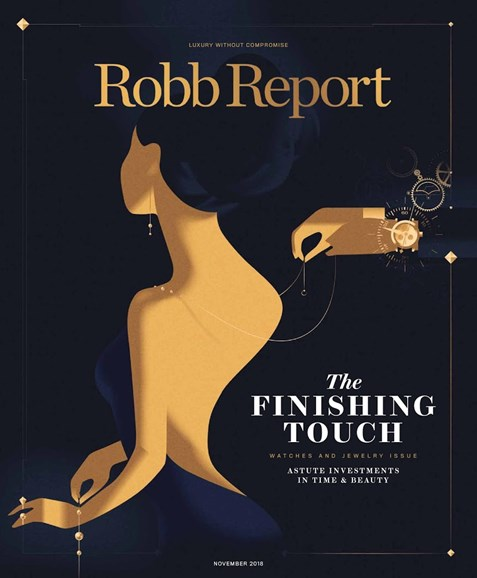 Robb Report Cover - 11/1/2018