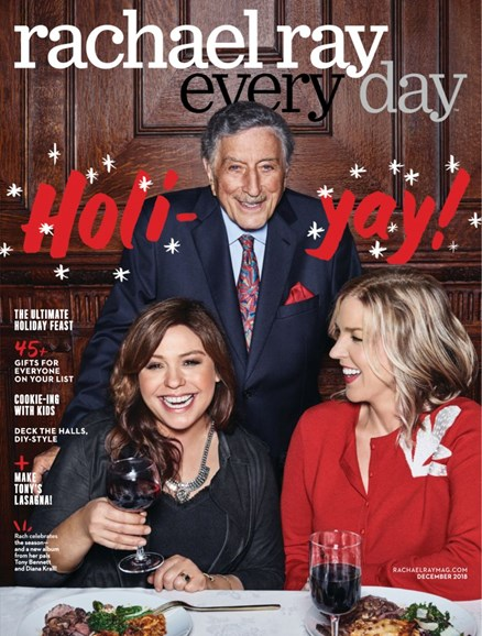 Rachael Ray Every Day Cover - 12/1/2018